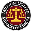 million dollar advocates badge