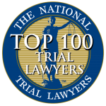 top 100 lawyer badge