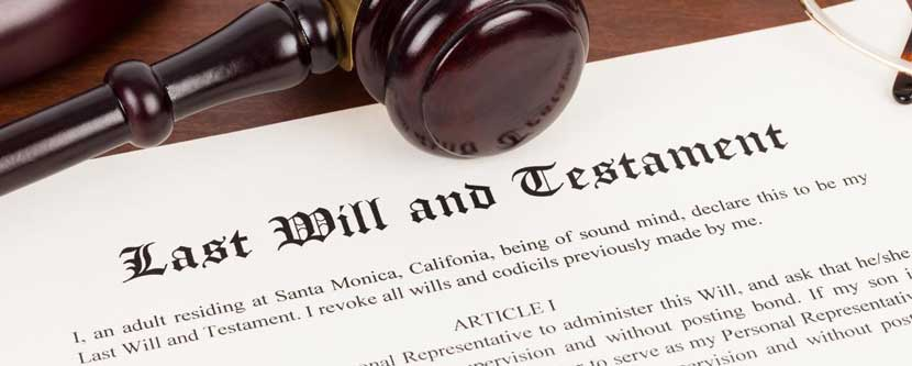 Wills and estate planning in Maryland