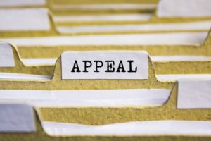 A workers compensation claim denial can be appealed