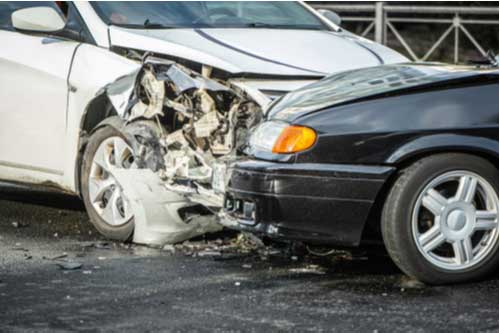 traffic collision on Interstate 95