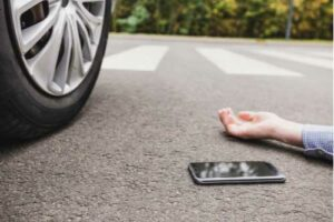 Concept of hit-and-run accident in Anne Arundel County